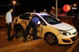 Kahramanmaraş'ta feci trafik kazası 1'i çocuk 8 kişi yaralandı
