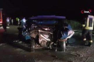 Manisa'da trafik kazası, Bayram Yeşil hayatını kaybetti