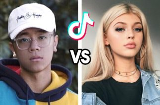 Michael Le VS Loren Gray Dance Battle | TikTok Compilation (July 2020)