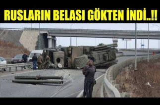 RUSLARIN PANSİRİ GÖKLERDEN GELEN GÜÇLE..!!