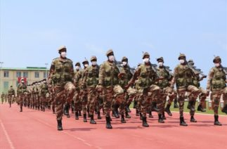Somali Türk Görev Kuvvet Komutanlığında Mezun Olan Askerler İçin Tören Düzenlendi