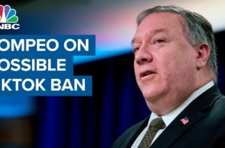 State Secretary Mike Pompeo on possible TikTok ban: Will take actions to protect information
