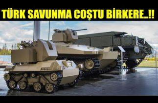 TÜRK SAVUNMA SINIR TANIMIYOR ŞİMDİDE..!!