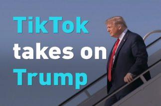 TikTok users take on Trump