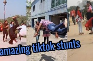 Tiktok best girls reaction on flip part 3🔥|| suraj ISR