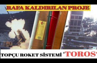 Türkiye Cumhuriyeti'nin geliştirdiği ilk topçu roket sistemi TOROS