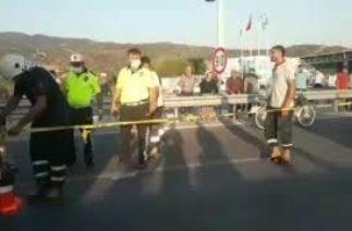 Çine'de trafik kazası: Sürücü öldü, annesi ağır yaralandı