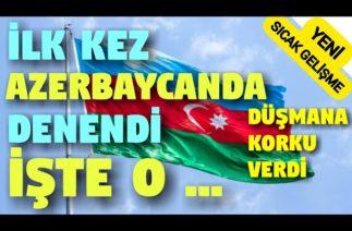 İlk Kez Azerbaycan'da Denendi. Düşmana Korku Verdi.