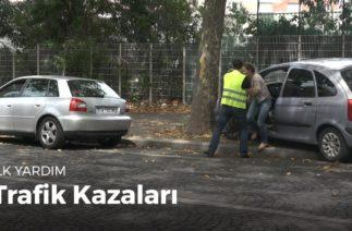 İlk yardım hareketlerini öğrenin: Trafik kazaları