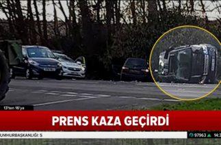 İngiliz Prens Trafik Kazası Geçirdi