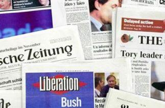 19.12.2013 – Avrupa basınından özetler
