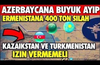 AZERBAYCAN'A KARŞI KİRLİ OYUN KAZAKİSTAN-TÜRKMENİSTAN'IN AYIBI