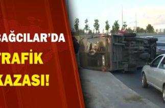 Bağcılar'da Trafik Kazası! / A Haber