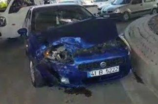 Bayburt'ta meydana gelen trafik kazasında 2 kişi yaralandı- 29/07/2020