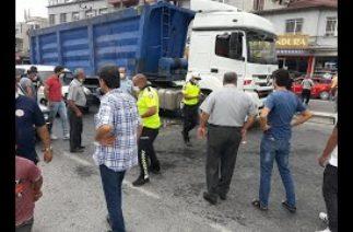 Belen'De Kaza Tır Yayaya Çarptı 1 Yaralı 21 Ağustos 2020 8Gunhaber 1
