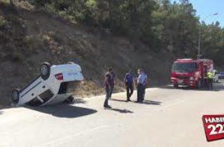 Bilecik'te trafik kazası: 1 yaralı