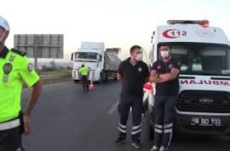Bursa Karacabey'de trafik kazası: 1 ölü