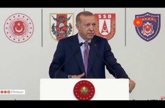 """Cumhurbaşkanı Erdoğan'dan yeniden uçak gemisi çağrısı: """"Sadece ANADOLU yetmez"""""""