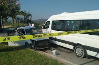 Dalaman'da trafik kazası 1 ölü, 2 yaralı