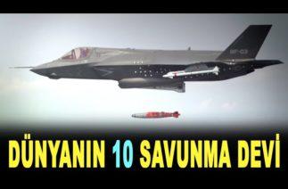 Dünyanın en büyük 10 savunma şirketi – World's largest defense companies 2020 – Defense News Top 10