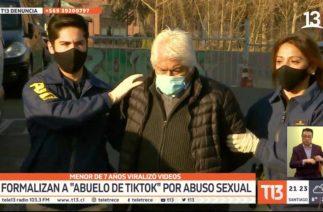 """Formalizan a """"abuelo de TikTok"""" por abuso sexual: menor de 7 años viralizó videos"""