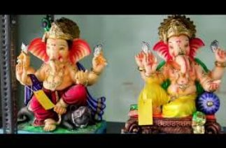Funny conversation / Talk of different GANPATI in stall #Agristyle
