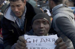 Gana'lı gençlerin Avrupa hayali