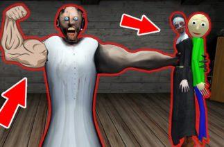 Granny Strong vs Baldi vs Evil Nun – funny horror animation parody (part 26)