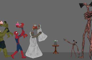 Granny vs Siren Head, Hulk, SpiderMan Funny Animations – Drawing Cartoons 2 HD