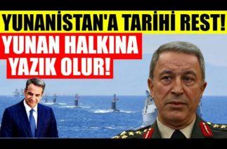 Hulusi Akar'dan çok çarpıcı Libya açıklaması Yunanistan'a resti çekti
