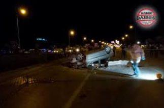 Konya Ankara yolunda trafik kazası