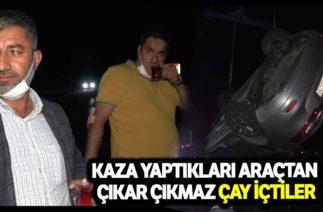 Kırıkkale'de Trafik Kazası, Otomobil Su Kanalına Düştü; 3 Yaralı