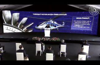 Milli Genel Maksat Helikopteri Gökbey'in motorunda kullanılan en yüksek katmadeğerli parça