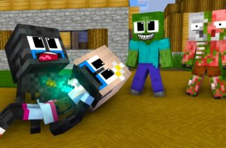 Monster School : POOR BABY WITHER SKELETON – Minecraft Animation