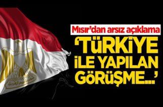 Mısır'dan arsız açıklama Türkiye ile yapılan görüşme