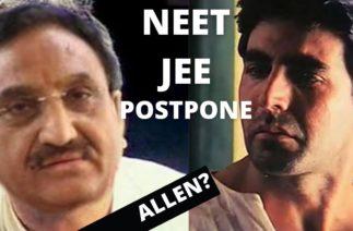 NEET and JEE POSTPONE | Funny Spoof ft Baburao Herapheri | Nihal Nagar Vines