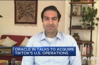 Oracle's interest in TikTok surprising, it doesn't have ties to consumers like Microsoft: Massoudi