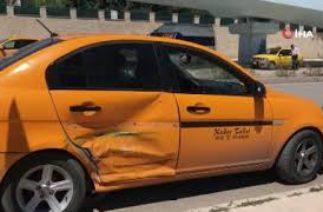 Orduevi Kavşağında trafik kazası