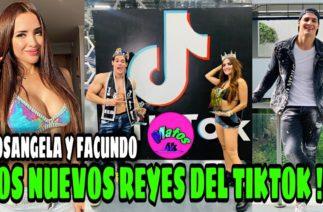 🔵 ROSANGELA ESPINOZA Y FACUNDO GONZALEZ || LOS NUEVOS REYES DEL TIKTOK 2020