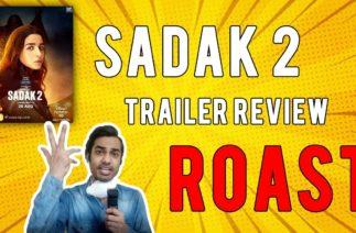 Sadak 2 Funny Review Roast | Sadak 2 Dislike Record | Stop Nepotism #boycottsadak2