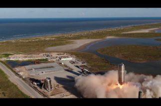 SpaceX, Ay ve Mars seyahati için geliştirdiği Starship roketini test etti
