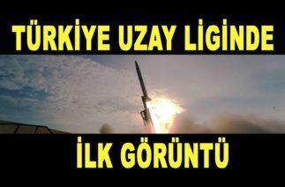 TÜRKİYE UZAYDA 🚀 İLK GÖRÜNTÜ – Sonda Roketi – ROKETSAN – Türk Savunma Sanayi