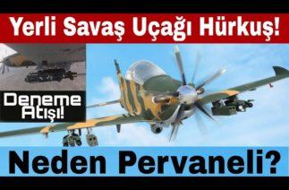 TUSAŞ Hürjet atış testi, neden pervaneli ve avantajı nedir? Yerli ve milli savaş uçağı…