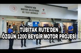 Tübitak'tan 1200 Beygir Dizel Motor Projesi Müjdesi
