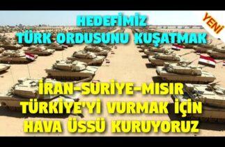 Türk Ordusunu Kuşatıyorlar.