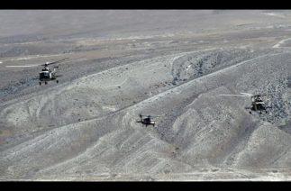 Türkiye ve Azerbaycan helikopterleri ortak hedefleri imha etti / Büyük Türkiye-Azerbaycan Tatbikatı