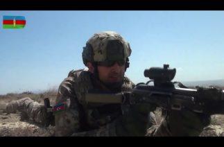 Türkiye ve Azerbaycan'ın Özel Kuvvetleri Büyük Türkiye-Azerbaycan Tatbikatı'nda