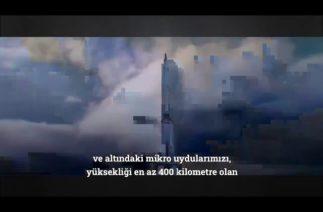 Uzayın kapıları Türklere açıldı