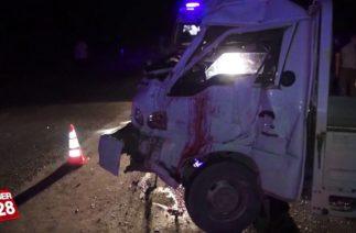 Yenişehir yolunda trafik kazası: 1 ölü, 5 yaralı