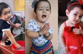 2 Years Baby's TikTok | Samira Thapa New TikTok Videos in Nepali Song